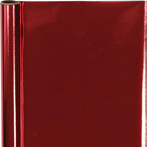Inpakpapier, B: 50 cm, 65 g, rood, 4m
