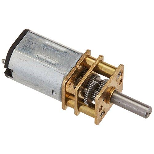50 RPM DC-Getriebemotor - TOOGOO(R)JA12-N20 DC 3V 50R / min Drehmoment Drehzahl Getriebe Gangschaltung Elektromotor Silber + Gold