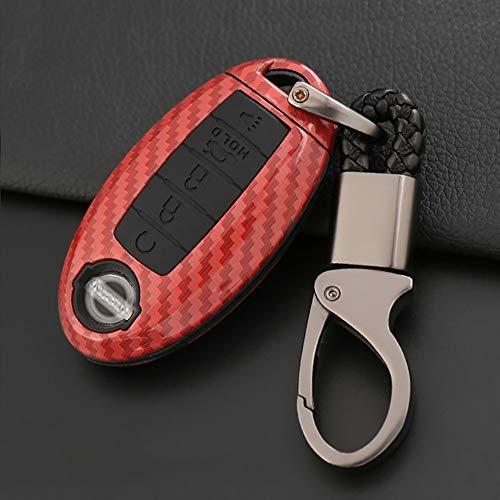 ontto Autoschlüssel Hülle Cover für Nissan Rouge Murano Maxima Altima Sentra Pathfinder Qashqai...
