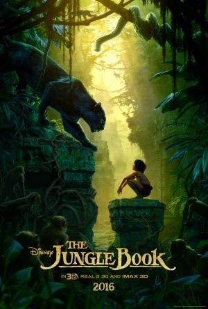 """Poster da parete del film """"Il libro della giungla"""", dimensioni 30 cm x 43 cm, Disney"""