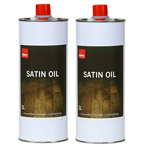 Kährs Spar-Set Parkettpflege Satin Oil ÖL 2X 1000 Ml