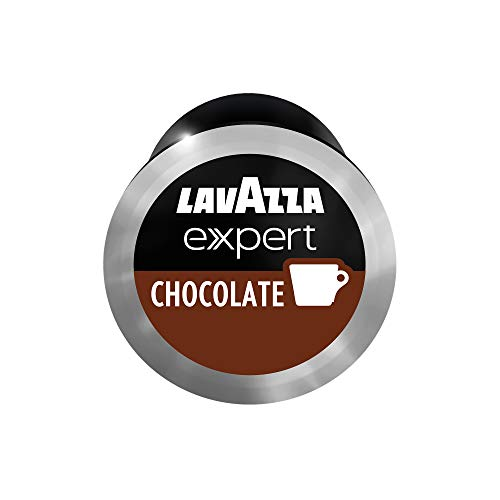 Lavazza Premium Coffee Corp Lavazza Expert Hot Chocolate Capsules - 50-ct, 50Count ,Value Pack, Blended and roasted in Italy, Full and balanced blend, dark chocolate notes