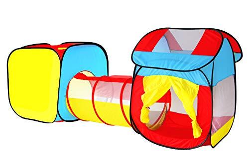 Tienda Campaña Infantil Carpa Plegable Tunel Infantil