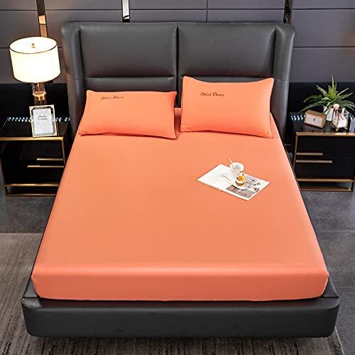 Bolo Bed Sheet - Juego de funda nórdica de algodón lavado, para cama de matrimonio, 48 x 74 cm, 2 unidades
