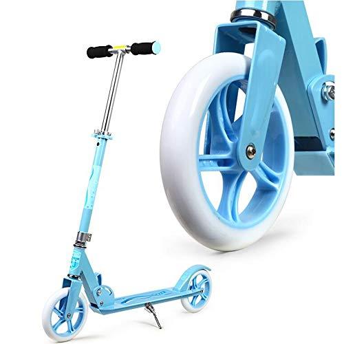 LJHBC Patinete Pedal de Aluminio Todo Patinete Scooter de 2 Ruedas Adulto/Juventud/niño...
