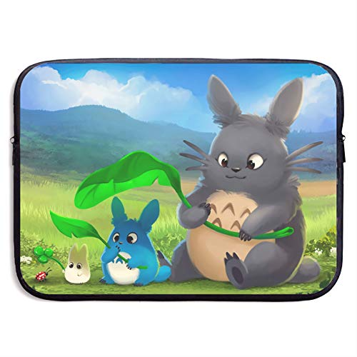 My Neighbor Totoro Laptop Sleeve Bag Tablet Fashion Briefcase Ultra Portable Protective Cover MacBook Air MacBook Pro Notebook Computer Sleeve Case 13 inch