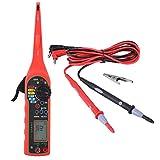 Suuonee Car Circuit Tester, Auto Circuit Tester Multímetro Lámpara Reparación de automóviles Automotriz Herramienta de diagnóstico eléctrico(rojo)