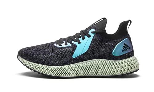 adidas Originals Alphaedge 4d Zapatillas de correr para hombre, Negro (Núcleo negro/azul brillante/morado universitario.), 41 EU ⭐