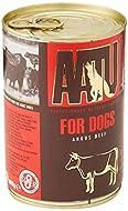 AATU Dog 90/10 Angus Beef Wet Dog Food, 400 g (Pack of 6)