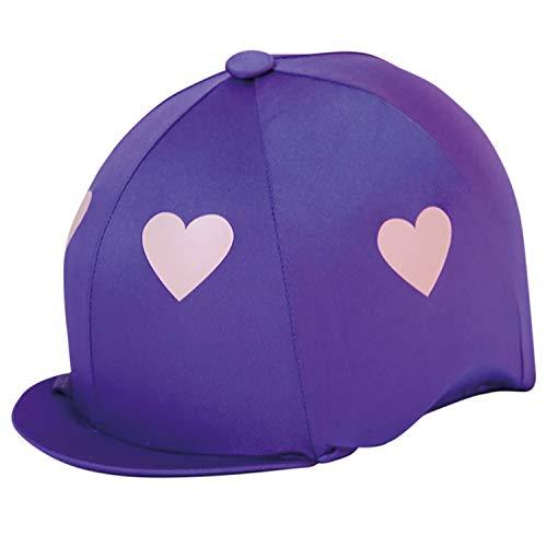 CAPZ Tapa Cubierta Cap Cover Heartz, Unisex Adulto, Morado y Rosa, Estándar