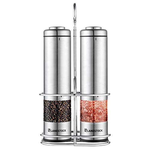 Lanestock Electric Salt and pepper grinder