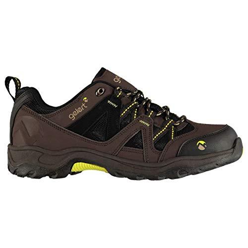 Gelert Herren Ottawa Wanderschuhe Trekkingschuhe Outdoor Schuhe Schnuerschuhe Braun 10 (44)