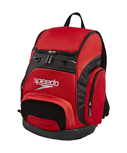 Speedo Unisex Adult Teamster Backpack, Red, 35 l