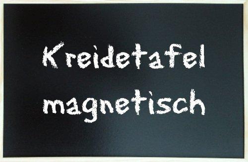 Kreidetafel 60x 80 cm magnetisch mit Holzrahmen