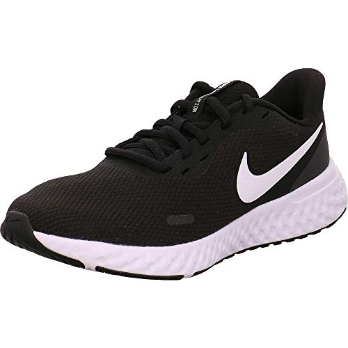 Nike Women's Revolution 5 Running Shoe, Black/White-Anthracite, 7 Regular US