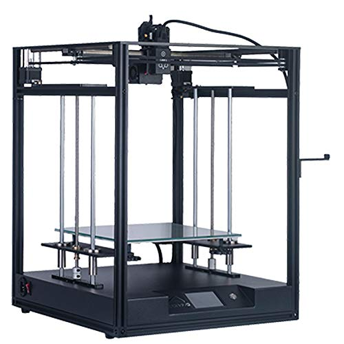 Rabusion Hot for Elf Large Size Fast Assembly 3D Printer CoreXY Dual Z Axis 300 x 300 x 330mm DIY Kit 3.5 Inch Touch Screen EU Plug