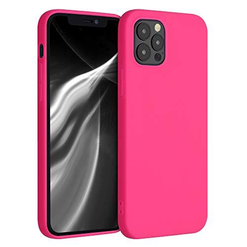 kwmobile Hülle für Apple iPhone 12/12 Pro - Hülle Handyhülle - Handy Hülle in Neon Pink