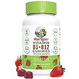 Vegan Vitamin D3+B12 Gummy (Plant-Based Gummies)...