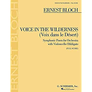 Voice in the Wilderness (Symphonic Poem) Full Score