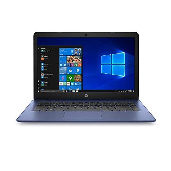 HP Stream 14 inches HD(1366×768) Display, Intel Celeron N4000 Dual-Core Processor, 4GB RAM, 64GB eMMC, HDMI, WiFi…