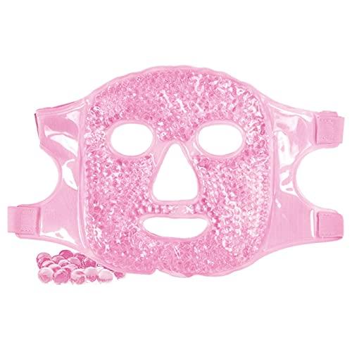 Maschera gel per occhi, Gel Face Mask, Maschera Di Ghiaccio, maschera gel riutilizzabile per impacchi caldi e freddi per occhi secchi, occhiaie, alleviare la fatica, ridurre il gonfiore