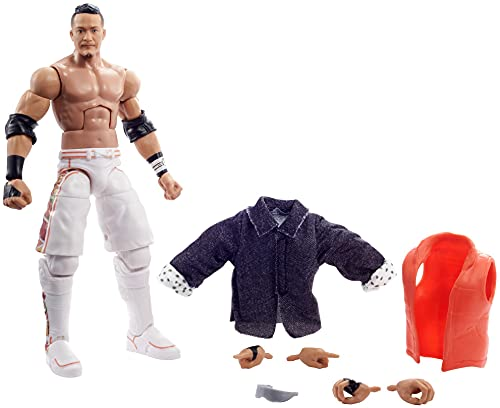 WWE Kushida Elite Collection Series 93 Action Figure 6 in Posable Collectible Gift Fans Ages 8 Years Old and Up