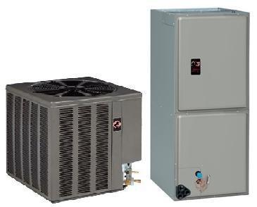 2 Ton Rheem 15 SEER R-410A Variable Speed Heat Pump Split System