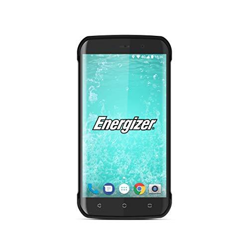 Energizer MOBILES AND ACCESSORIES HARDCASE H550S - Smartphone débloqué 4G - Prises EU/US/LATAM (Écran : 5,5 Pouces - 32 Go - Double SIM - Android 7.0 Nougat - Etanche IP 68 - Antichoc) - Noir