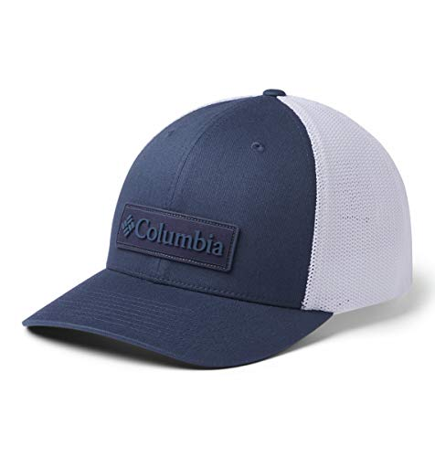 Columbia Mesh Ballcap, Dark Mountain/New Patch, Small/Medium