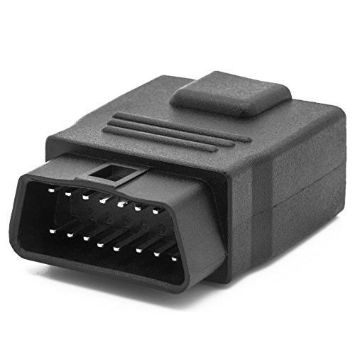 Adapter Universe OBD 2 II Diagnose Interface 16 Pin Norm Stecker auf Norm Buchse Kabelloser Adapter für Auto KFZ PKW