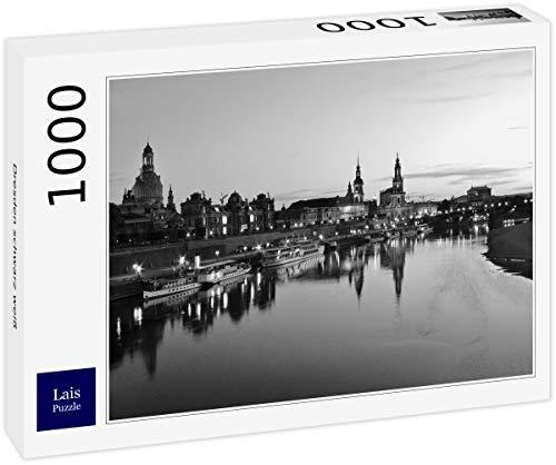 Lais Puzzle Dresden schwarz weiß 1000 Teile