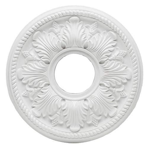 Westinghouse Lighting 77750 Rosetón para Techo con Acabado Blanco 35,6 cm