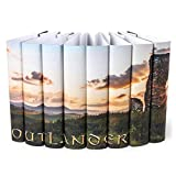Juniper Books Outlander Custom DUST Jackets ONLY (Books Not Included) | for Your Eight-Volume Hardcover Book Set