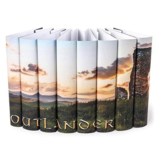 Outlander | Juniper Books Custom Designed Outlander Dust Jackets Books NOT Included | Author Diana Gabaldon
