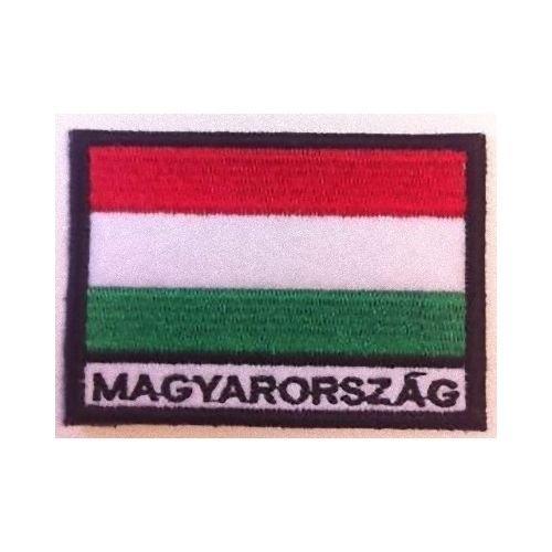 MAREL Patch Bandera HUNGRÍA cm 7x 5Parche Bordado