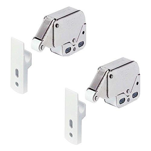 Häfele Mini cerradura automática de resorte Paquete de 2