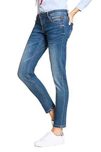 Blue Fire Co TYRA 005 - Skinny, Stone Used 30/32 - Damen