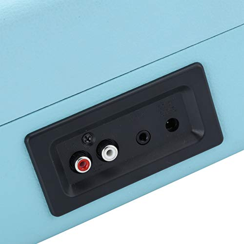 Surebuy Reproductor de Discos de Vinilo 100‑240V Reproductor de Tocadiscos portátil Maleta Compatible con Discos de Vinilo de 7/10/12 Pulgadas Discos de película(Transl)