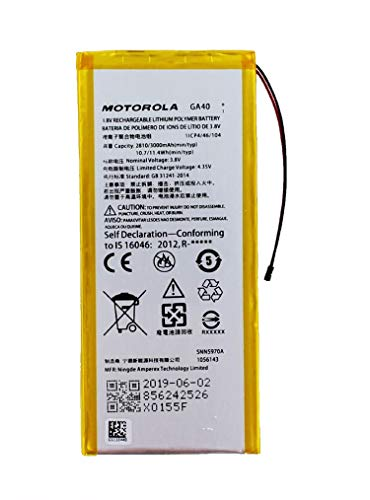 Motorola Original Akku für Motorola Moto G4, Handy/Smartphone Li-Pol Batterie