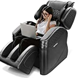 Massage Chair, Airbag Finger Pressure Down Back Heating, Zero Gravity Full Body Massage Chair Recliner, Hip Vibration, Foot Roller for Home/Office, 3 Year Warranty