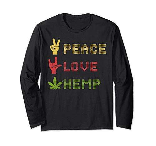 CBD Öl Geschenk-Design - Peace, Love...