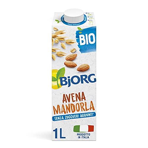 BJORG Bevanda di Avena e Mandorle Bio (1L) Senza Zuccheri Aggiunti