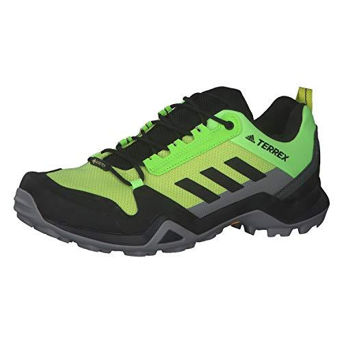 adidas Terrex AX3 GTX, Zapatillas de Senderismo Hombre, AMAACI/NEGBÁS/Griuno, 44 2/3 EU
