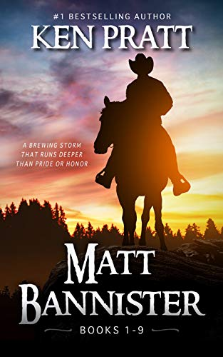 Matt Bannister: Books 1-9 by [Ken Pratt]