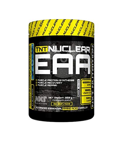 NXT Nutrition Nuclear EAA 360 Grams 30 Servings (ICY Blue Razz)