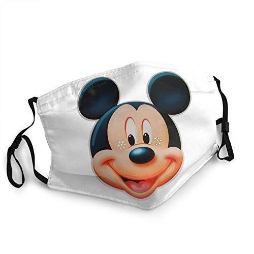 Mscara de Mickey Mouse ajustable reutilizable mscara mscara pasamontaas sombrero turbante al aire libre polvo mscara hombres y mujeres deportes