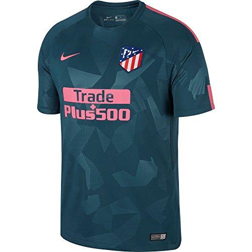 NIKE Atlético de Madrid Camiseta, Hombre, Verde/Rosa, XL