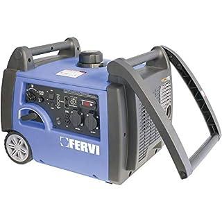 Fervi GI01/32 Generatore Inverter, 3.2 kVA, 2800 W, Ciano/Grigio/Nero (B00P7X922W) | Amazon price tracker / tracking, Amazon price history charts, Amazon price watches, Amazon price drop alerts