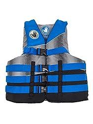 in budget affordable Body Glove Men's Method Life PFD Jacket, Black / Electric Blue / Silver Gray, XXXXL / XXXXXXL