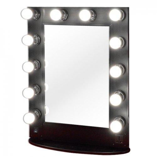 Miroir lumineux maquillage et coiffure